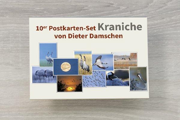 Postkartenset Kraniche
